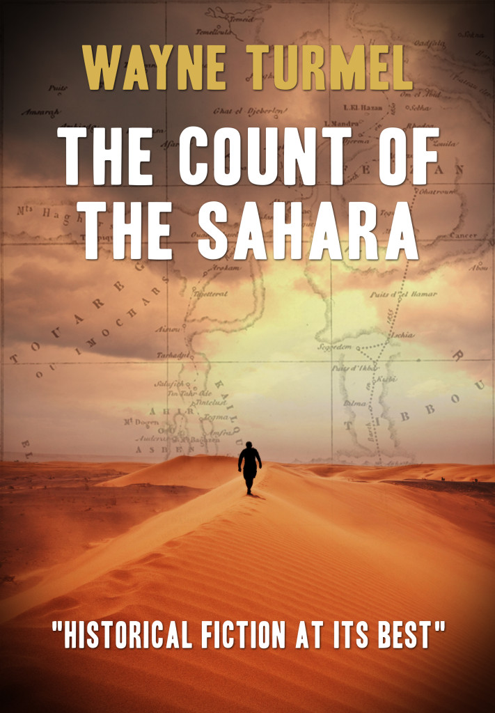The Count of the Sahara is now available in Kindle format. Also available in paperback from Amazon or direct from the publisher.