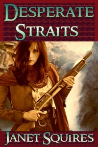Desperate Straits is her first novel about the settling of Arizona